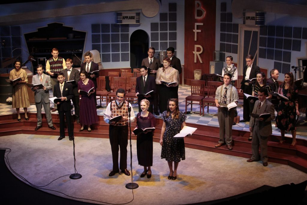 Clovis North Performs It S A Wonderful Life Radio Play