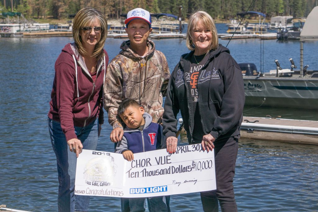Major cash prizes up for grabs at bass lake 2017 fishing for Shaver lake fishing report