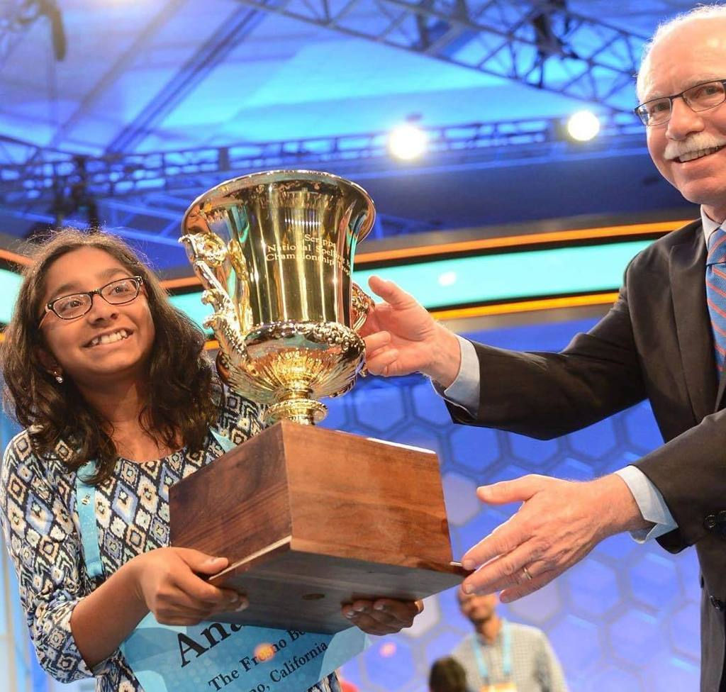 National spelling bee champ ananya vinay honored in for Sacramento bee fishing report