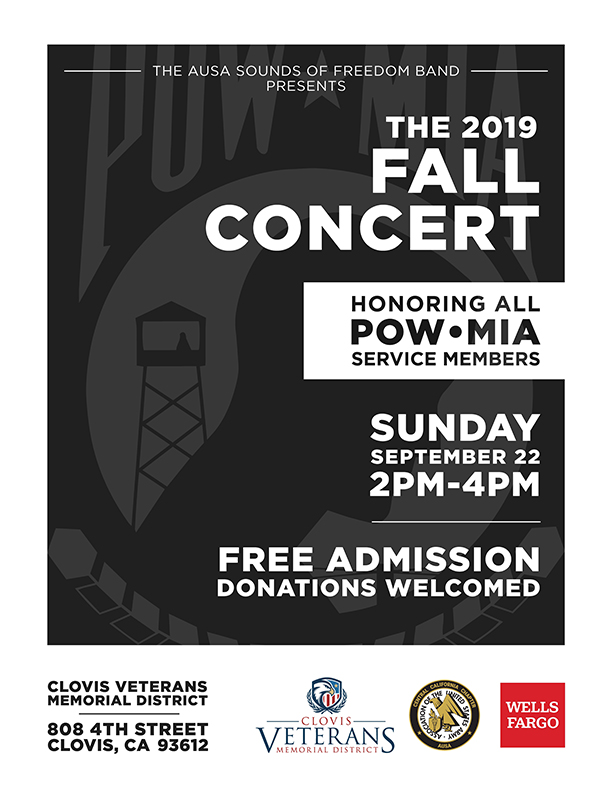 AUSA Sounds of Freedom Fall Concert @ CVMD | Clovis | California | United States